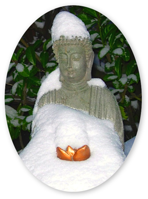 buddha-in-snow